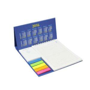 Календарь кашированный с блокнотом