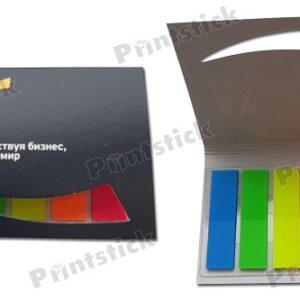 Цветные закладки в вырубной обложке
