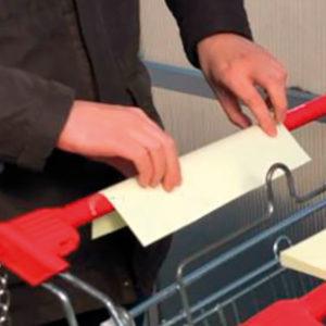 Противовирусная защита покупателей для тележек и корзинок в магазинах