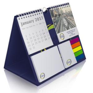Календарь-домик с двойным блоком